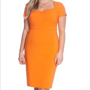 Eloquii Orange Sophia Dress